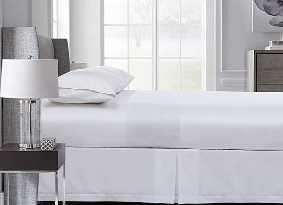 400 Thread Count Egyptian Cotton Sateen Flat Sheet (DOUBLE)