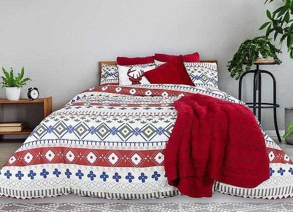 """Pembrey"" Duvet Cover Set (King)"
