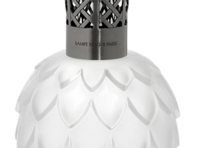Lampe Berger (White Frosted Artichoke)