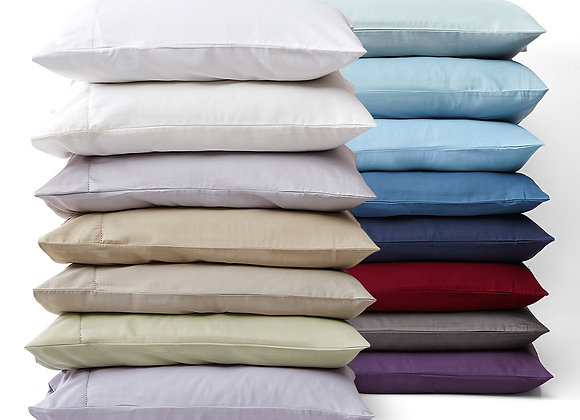 400 Thread Count Egyptian Cotton Sateen Pillowcases - King