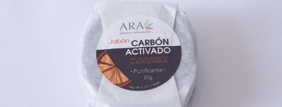 AR/ JABÓN CARBÓN ACTIVADO
