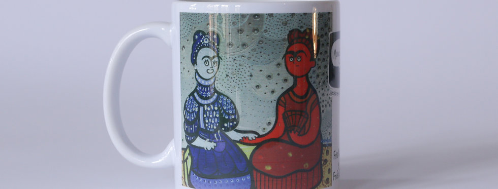 MG/ TAZA FRIDA KAHLO y FRIDA CALOR