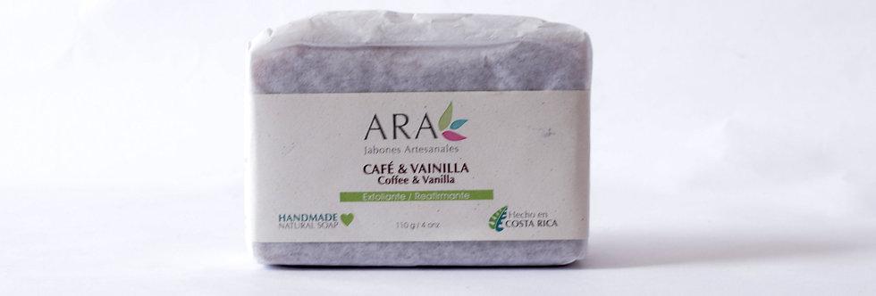 AR/ JABÓN CAFÉ VAINILLA