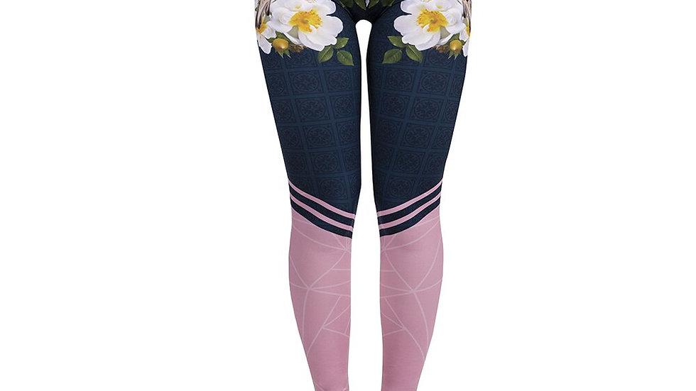 Women Legging Gradient Printing