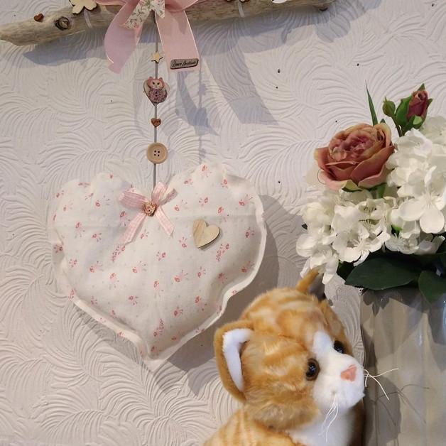 Mobile coeur rose(Création Douce Gratitude)
