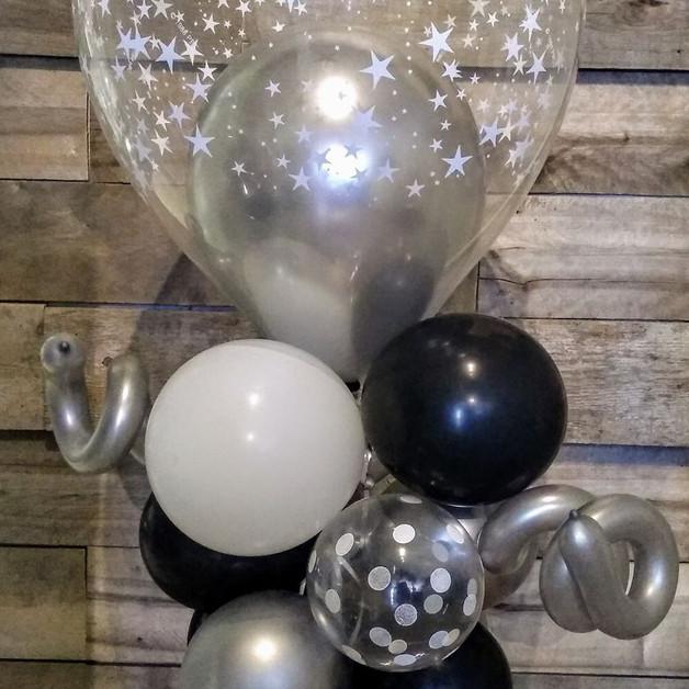 Ballon de table chic