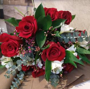 La douzaine de roses