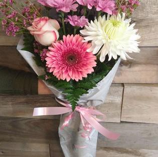 Bouquet à 25,00$+tx