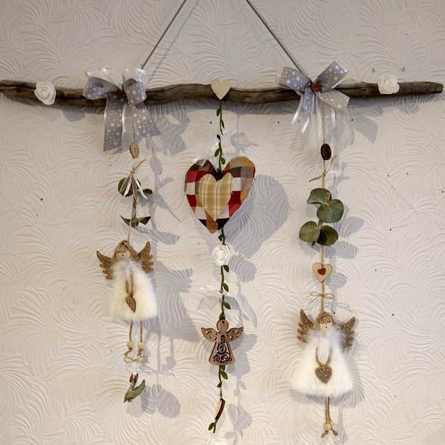 Mobile Anges (Création Douce Gratitude)