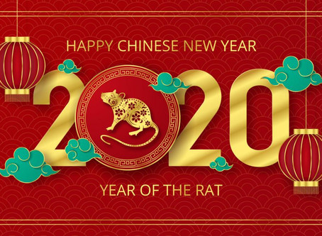 Chinese New Year 2020: Yang Blue Water and White Metal Rat