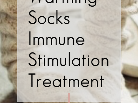 Warming Socks Treatment: Immune System Stimulation