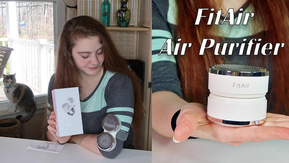 FitAir portable Air Purifier with HEPA