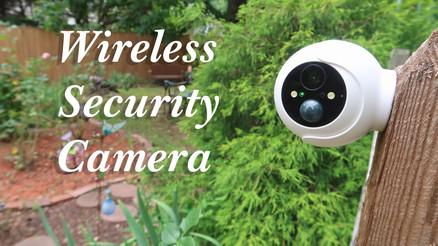 Litmor Wireless Outdoor Security Camera