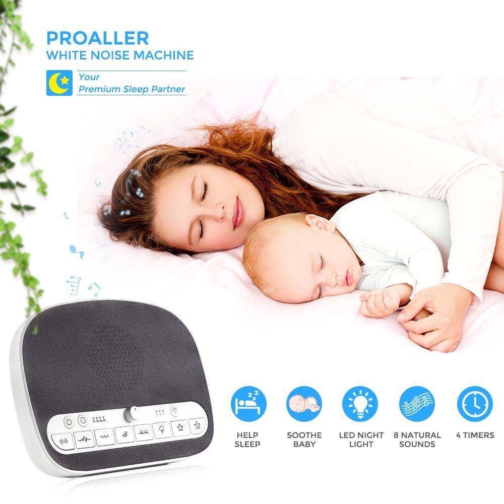 sound sleep therapy white noise Proaller machine