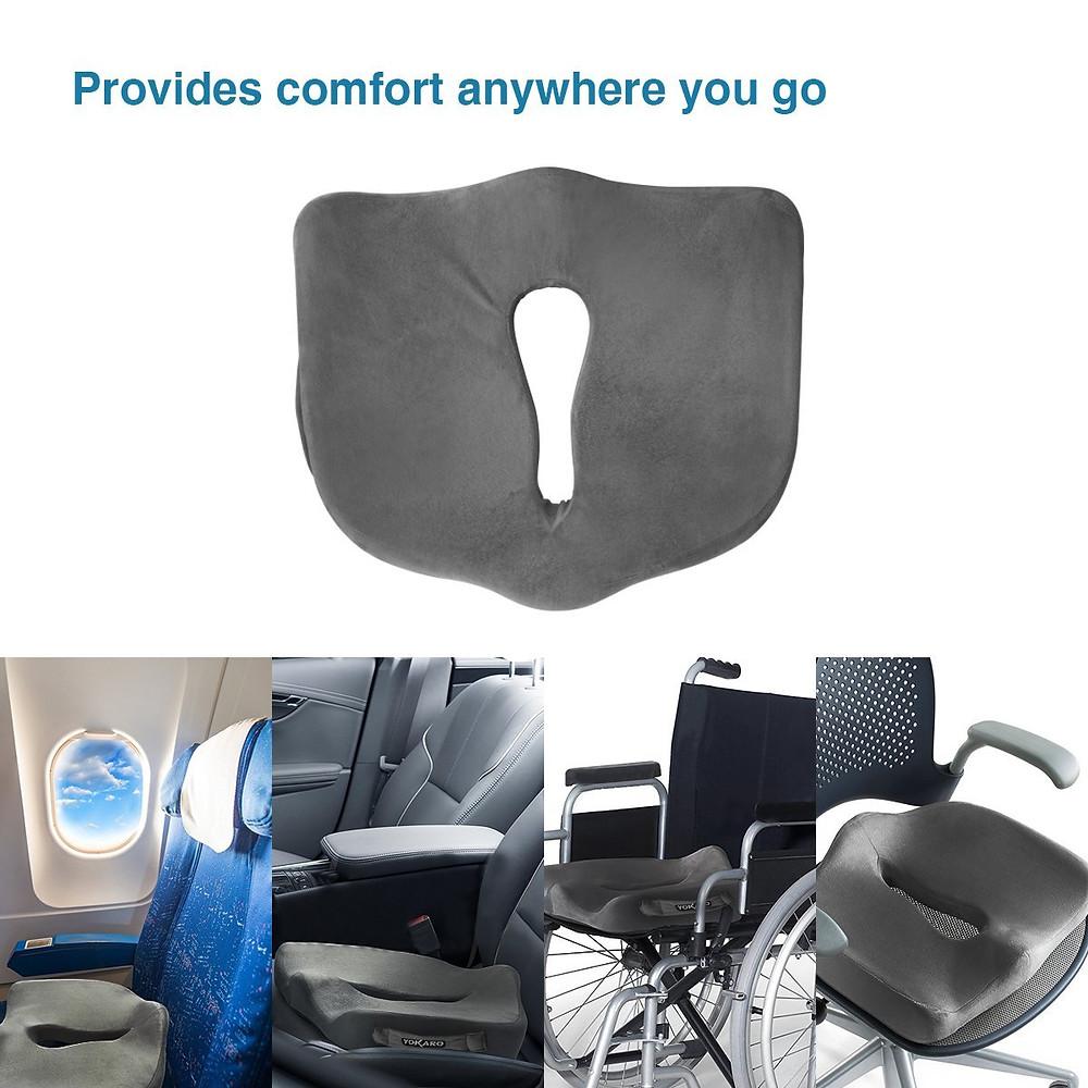 seat cushion wheel chair office chair airplane yokaro