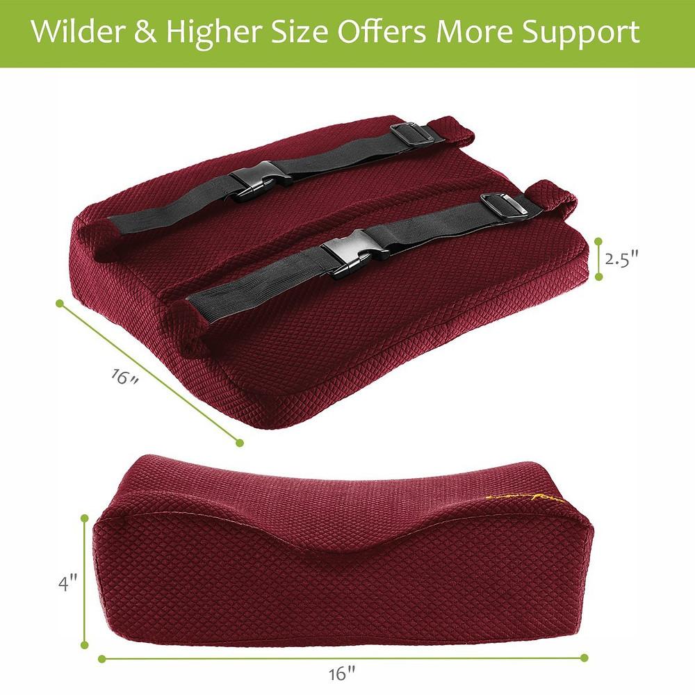 Comfom Lumbar Support Pillow Sizes