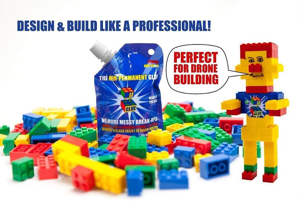 Le-Glue Lego Glug Shark Tank