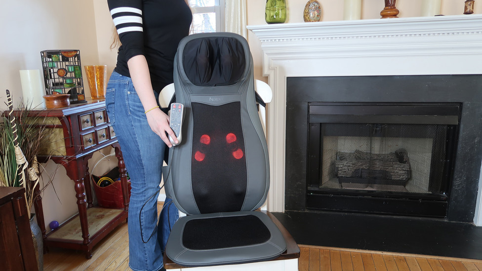Naipo Back Massager Shiatsu Seat Cushion Review