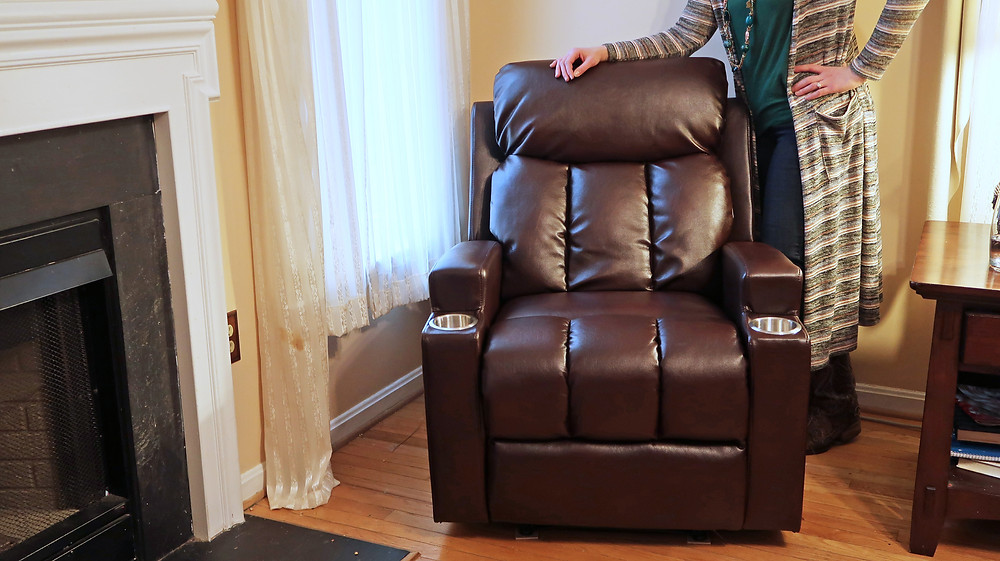 Bonzy Home Leather Recliner