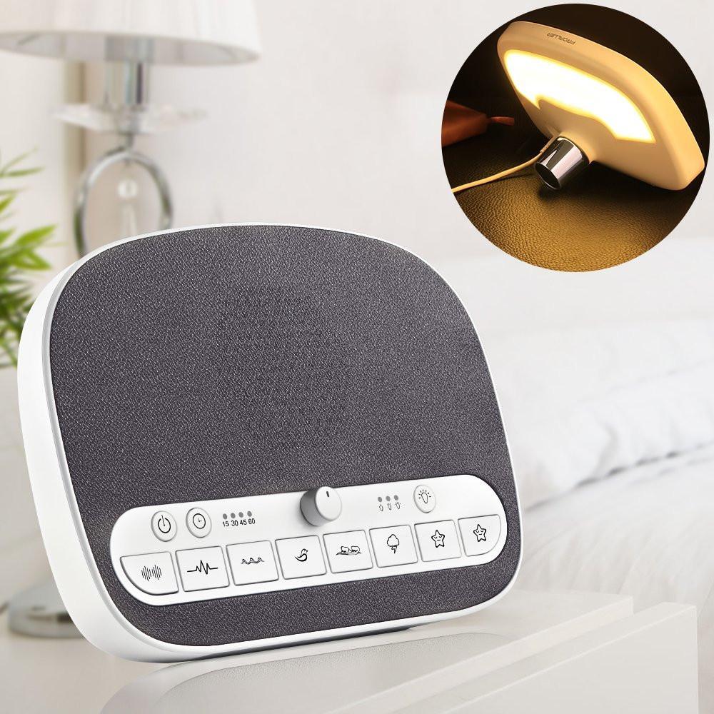 Proaller sound machine white noise sleep therapy