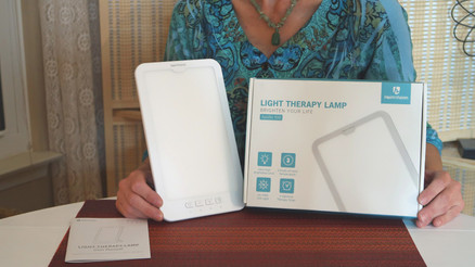 Light Therapy for a Happy Mood!