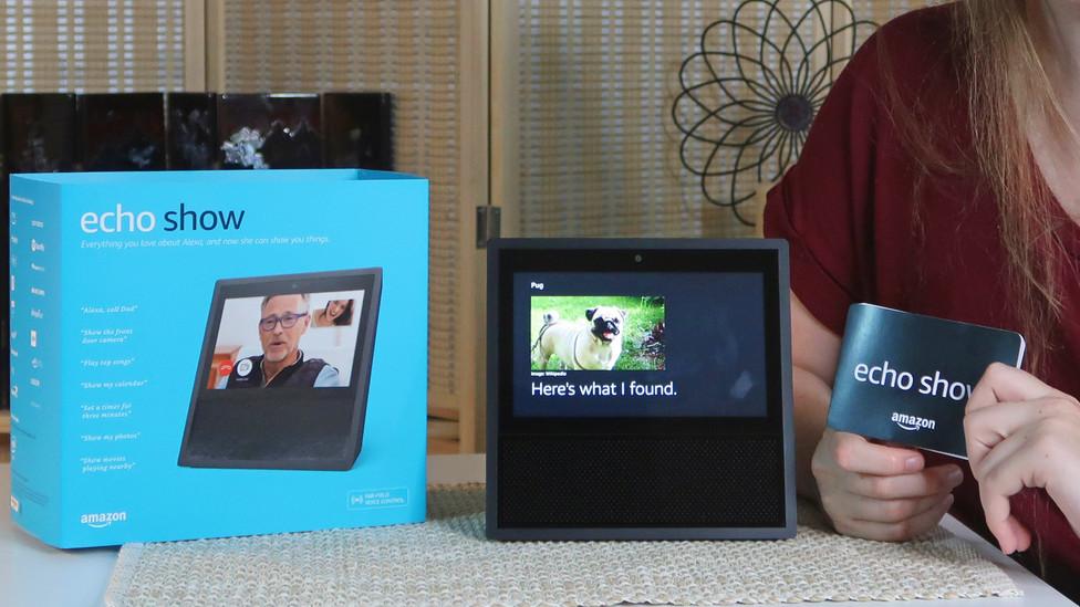 Echo Show - Amazon Alexa Device