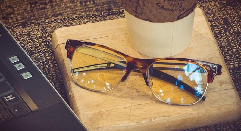 Gunner eye glasses for eye strain