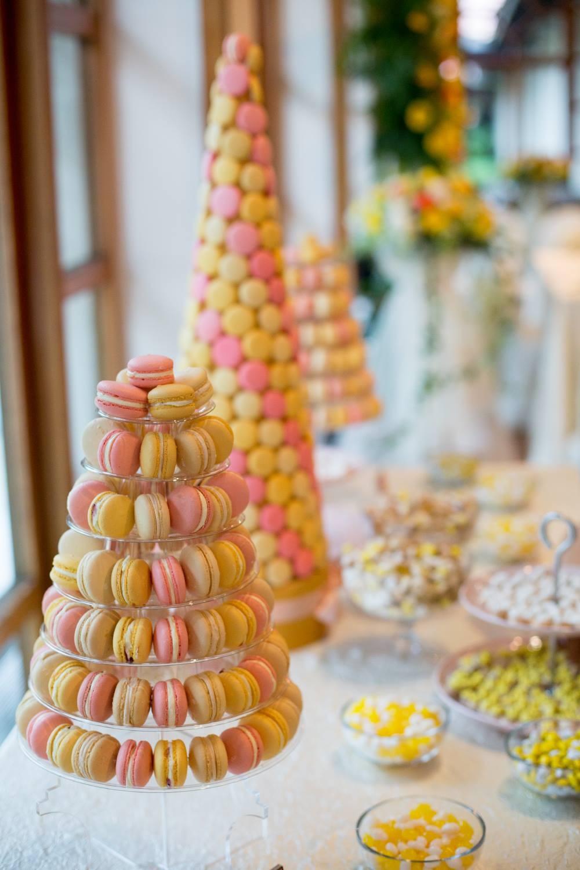 Macaron Dessert Table