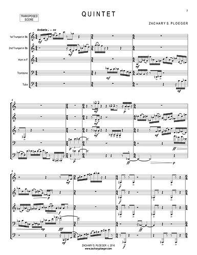 Quintet (for brass)