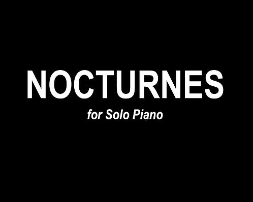 Nocturnes for Solo Piano - DIGITAL DOWNLOAD