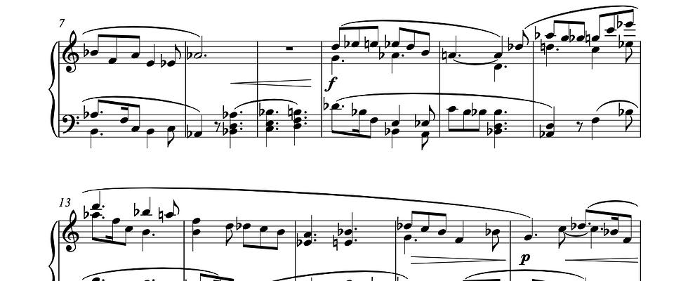 Sonata for Solo Piano