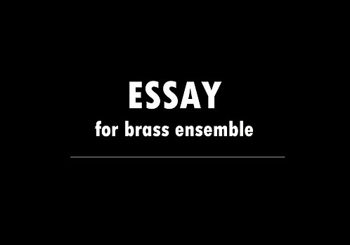 Essay - DIGITAL DOWNLOAD