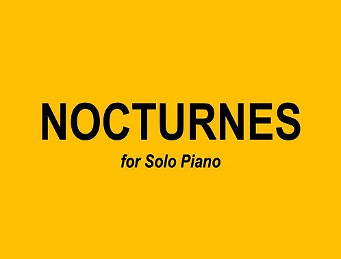 Nocturnes for Solo Piano