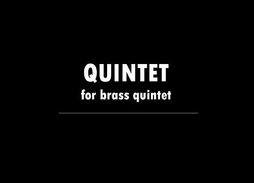 Quintet (for brass) - DIGITAL DOWNLOAD