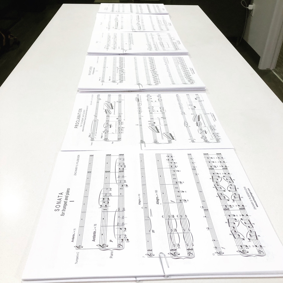 60 Minutes of New Music for Trumpet