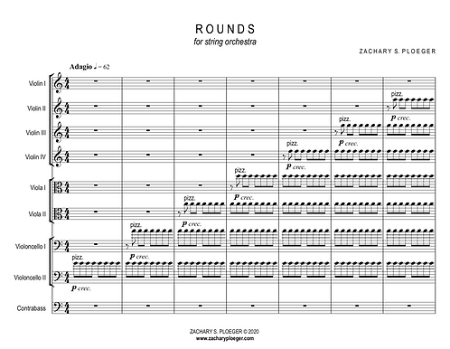 Rounds for String Orchestra