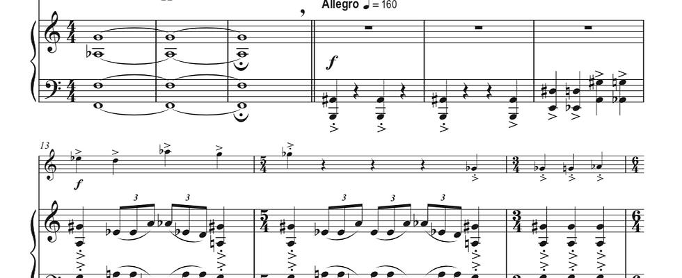 Sonata No. 1 for Trumpet and Piano