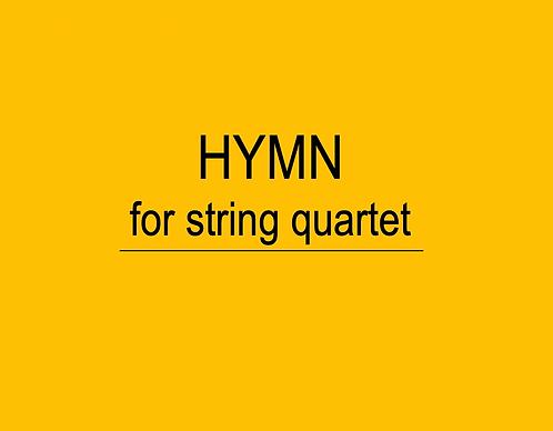 Hymn for String Quartet