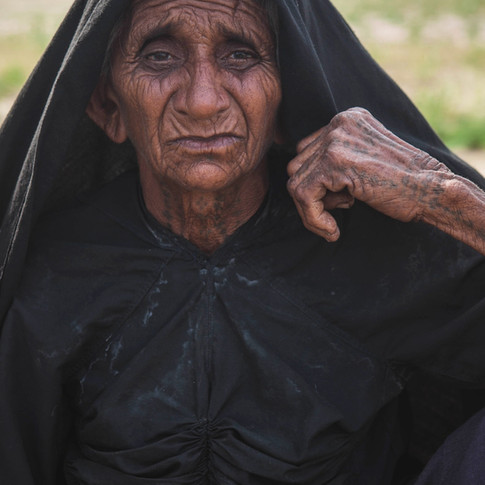 Vieille femme du Kutch