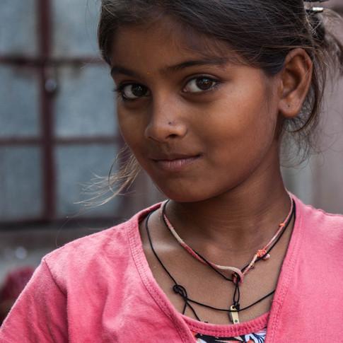 Jeune fille du Rajasthan