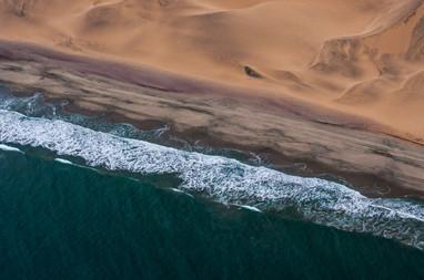 Namibie vue du ciel