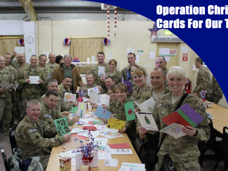 Operation Christmas Cards For Our Troops