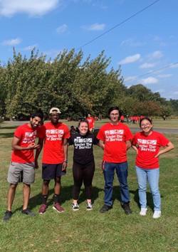 Rutgers volunteers
