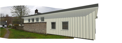 Backpascker lodge extension