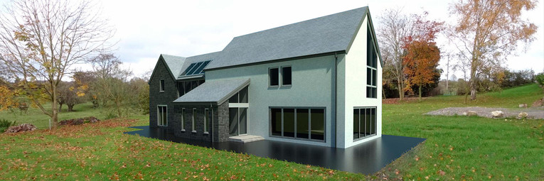 Stone and Render house