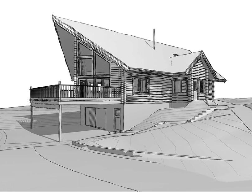Log house - Munlochy