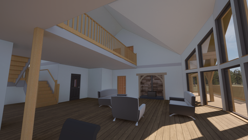 Portmahomack house interior