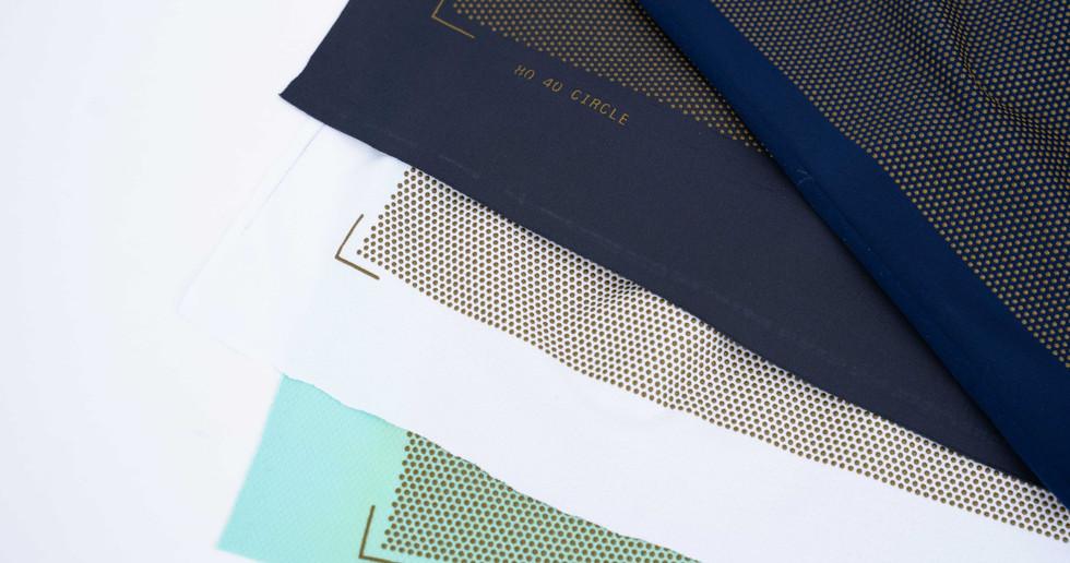 Material samples for Wheelwear