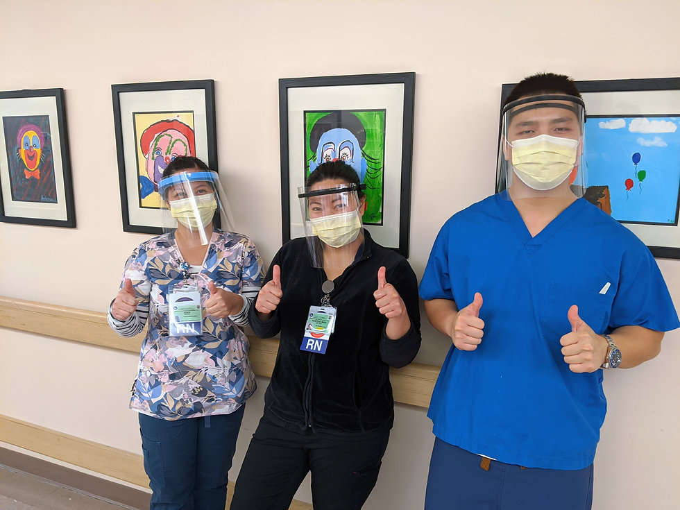 10. Rancho nurses Joan Paguio, Austene B