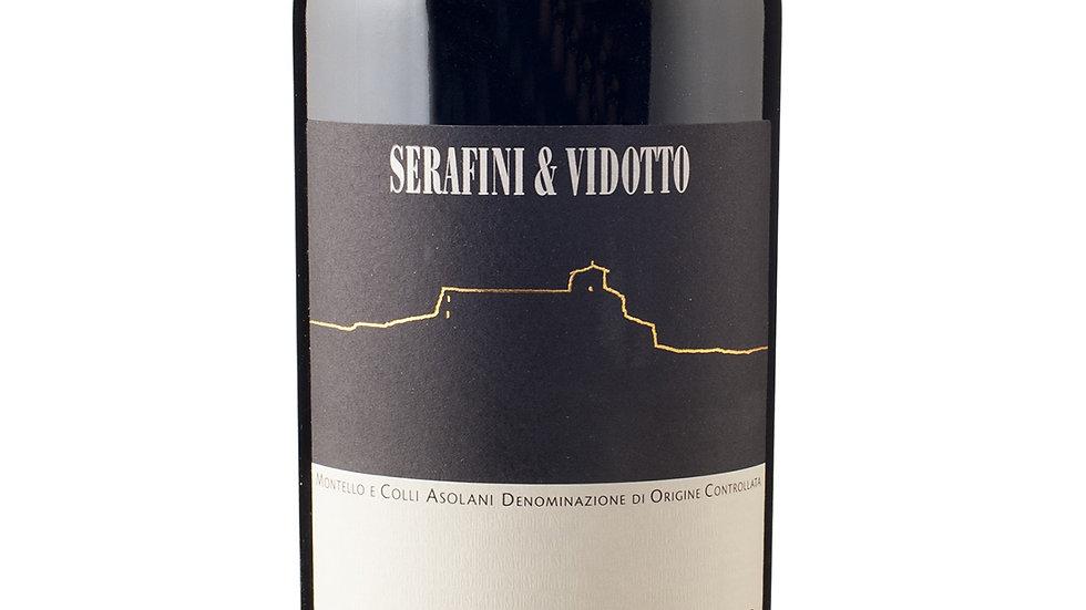 Huset Serafini&Vidotto -Il Rosso dell´Abazia Montello Asolani DOC kasse á 6 stk.